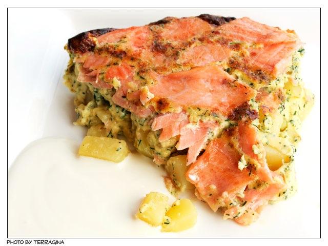 Feine Küchencreme ~ kartoffel frittata mit lachs u2013 terraginas blog