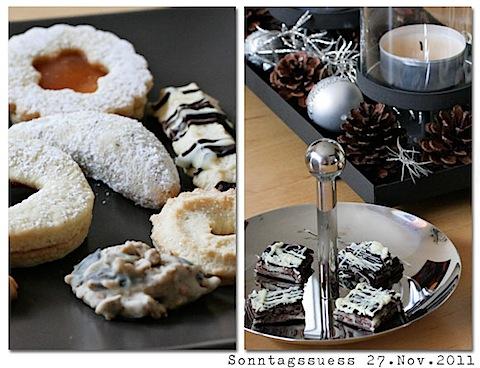 Advents-Sonntags-Süßer Plätzchenteller